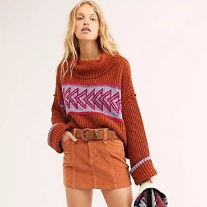 Free People Greater Than Cowl Neck Sweater